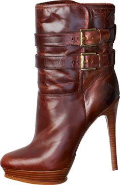 Michael Kors Mae Buckle Boot