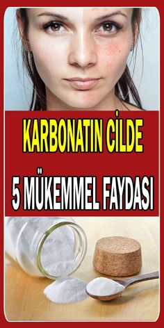 Karbonatın Cilde 5 Mükemmel Faydası Benefits and uses of carbonate to the skin. You can use carbonate to brighten skin, remove pimples, reduce skin spots, remove blackheads, and peel dead skin cells. Read our article for usage patterns. How To Remove Pimples, Remove Acne, Baking Soda Mask, Baking Soda Benefits, Skin Polish, Natural Hair Conditioner, Hair Care Oil, Hair Growth Cycle, Hair Protein