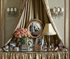 vintage vanity table...
