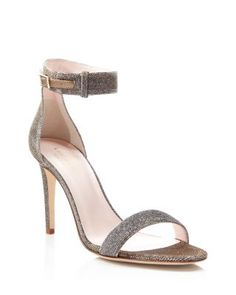 kate spade new york Isa Ankle Strap High Heel Sandals | Bloomingdale's