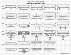 Adobe Illustrator Flat Fashion Sketch Templates - My Practical Skills | My Practical Skills