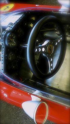 ✯ Ferrari 1960s Formula 1 Racing Car Cockpit