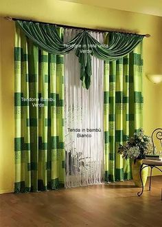 Interior Design On Pinterest Green Curtains Wall Beds