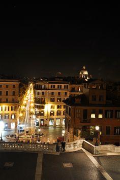rome in lights, via Flickr.