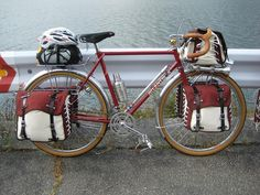 Randonneur bike all kitted up!