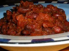Crock Pot Dark Bean Stew. Photo by Shark Lover