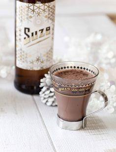 Chocolat Suze Pour changer du vin chaud, ce chocolat à la Suze est une alternative toute en originalité et en sensualité.