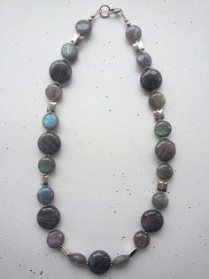 Flashy High Grade Labradorite and Sterling by OldeTowneJewelry, $85.00