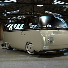 Really Clean Bay Window VW Bus