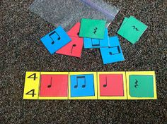 Music a la Abbott - Amy Abbott - Kodály Inspired Blog and Teachers Music Education Resource: Beat Strips