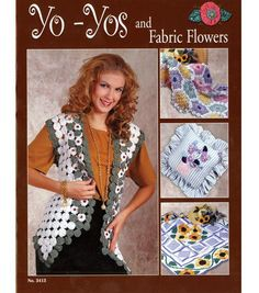 Yo-Yos And Fabric Flowers