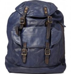 Paul Smith soft leather backpack. Would get better and better with age.