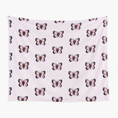 Pink Butterfly, Canvas Prints, Art Prints, Chiffon Tops, Tapestry, Mugs, Printed, Awesome, Stuff To Buy