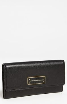 MARC BY MARC JACOBS 'Too Hot to Handle' Long Trifold Wallet available at #Nordstrom