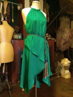 Trapeze dress front by Arwen Garmentry