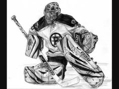 Great Hockey-player drawing!