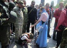 Бессмертный полк в Киеве 9.05.2016