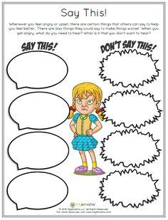 Anger, coping skills, anger management, children