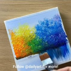 😍 Great art by: Wow Art (YouTübe) art artvideos painting sketch paint artist The Creation of Adam - Art - Adam art pencil drawings Creation artske . Canvas Painting Tutorials, Diy Canvas Art, Painting Canvas, Diy Painting, Simple Canvas Art, Splatter Paint Canvas, Crayon Painting, Rainbow Painting, Galaxy Painting
