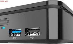 ECS lança PC ultra compacto PB01CF com CPU Intel Celeron de última geração