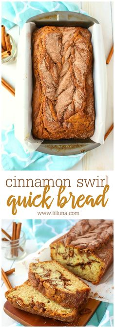 Cinnamon Sugar Quick Bread