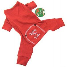 Fashion Pet Holiday pajamas for your dog. These red holiday pajamas...