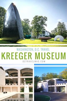 The Kreeger Museum is an art museum in Washington DC that showcases David and Carmen Kreeger's permanent collection of 19th and 20th century paintings and sculptures. The building, designed by renowned architect Philip Johnson, was formerly the Kreegers' residence. Also included in the permanent collection are works of prominent Washington artists and examples of traditional African and Asian art.