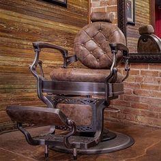 Barber Chair: Barber School of Pittsburgh Barber Shop Interior, Hair Salon Interior, Barber Shop Decor, Salon Interior Design, Barber Chair Vintage, Barber Chair For Sale, Andrea Barber, Barber Accessories, Best Barber Shop