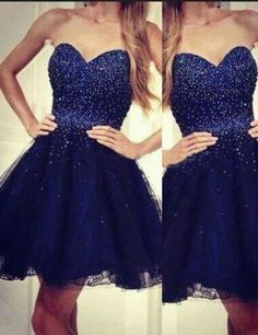 2016 homecoming dress,homecoming dress,short prom dress,sweetheart homecoming dress,royal blue homecoming dress,junior homecoming dress