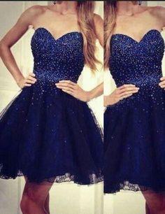 2016 homecoming dress,homecoming dress,short prom dress,sweetheart homecoming dress,royal blue homecoming dress,junior homecoming dress