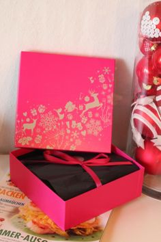 Glitter & Glamour - Fashion, Beauty und Lifestyleblog: Letzte Pinke Box des Jahres...