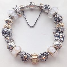 Pandora Bracelets Bracelet Designs My Pion Two Tones Personal Style Charms