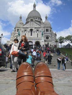 La Basilique du Sacré Coeur de Montmartre, Paris, France