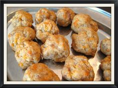 Einkorn Sausage-Cheese Balls