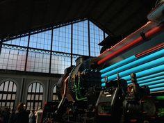 Mercado de Motores - Museo del Ferrocarril