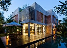 Private Villa Renovation by MM++ ArchitectsThe most common house design a century ago, villas are popular renovation subjects today.Completed in 2014, Vietnamese studio MM++ Architects stripp... Architecture Check more at http://rusticnordic.com/private-villa-renovation-by-mm-architects/