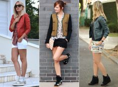 Moderninha: Looks com sneakers