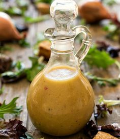 Simple Red Wine Vinaigrette