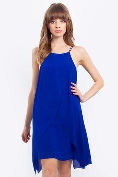 Blue Waves Dress