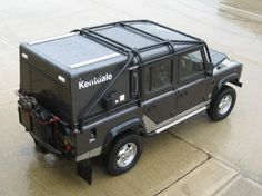 Make: Land Rover    Model: Defender 110 Crew/Double Cab Pick-Up 4-door (1983-present)    Description:     Roll cage number L243. 6 point full external bolt-in roll cage.  (As per L185, but without internal components).    Front options:     RBL243 7SSS - Full external bolt-in roll cage.   May be used alone.    Technical Specification:    Finished roll cage provided with black powdercoat paint finish unless specified otherwise.