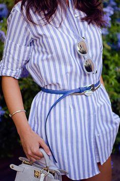 Cómo combinar una camisa de rayas en tu look : MartaBarcelonaStyle's Blog