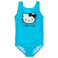 3dea4812f03c7 Hello Kitty Girl's Turquoise Bathing Suit Swimsuit ** Check this awesome  product by going to the link at the image.