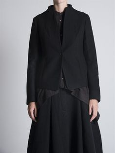 Collarless Jacket by Forme d' Expression