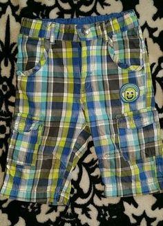 Kaufe meinen Artikel bei #Mamikreisel http://www.mamikreisel.de/kleidung-fur-jungs/kurze-shorts/37135386-34-shorts-86-kariert-sommer-hose