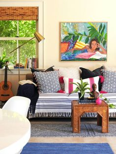 An interior designer makes over her mother-in-law's small beach house as a fun, diy-focused project. See inside a small beach house that received an affordable make over for less than $2K on domino.