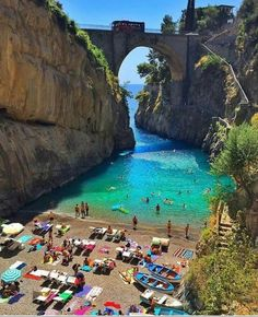Fiorde de Furore, Salermo na Itália