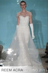 Reem Acra Spring 2013 Bridal collection