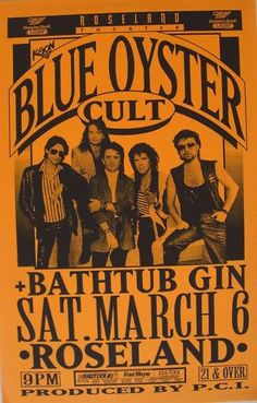 Going to see Blue oyster cult is playing next Thursday at the fair!
