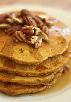 Pumpkin Oatmeal Pancakes – Mom Endeavors