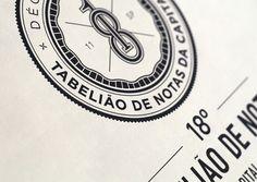18th Registry of Notes by Pedro Paulino, via Behance